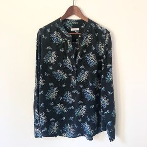 100% Silk equipment Floral Tunic